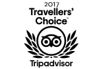 Travelleres Choice 2017 award winner
